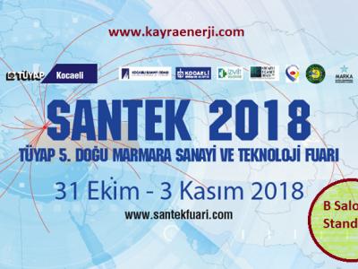SANTEK 2018 FUAR DAVETİ
