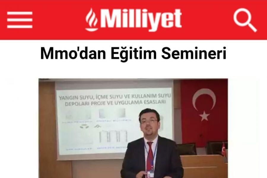 milliyet gazetesi eğitim semineri